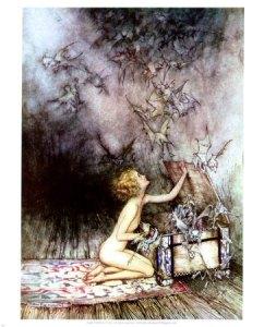Pandora's Box - Arthur Rackham