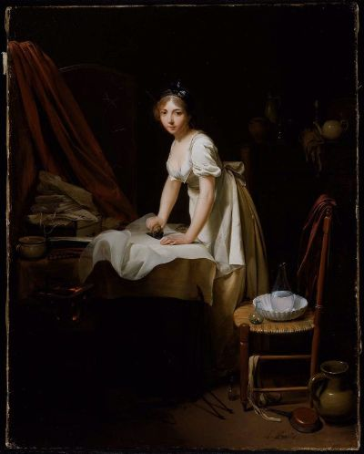 Young Girl Ironing - Boston Museum Fine Arts